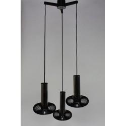 Spiral hanging lamp jaren 70