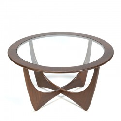 Vintage coffee table model Astro design Victor Wilkins