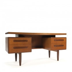 Vintage narrow sixties desk and / or dressing table