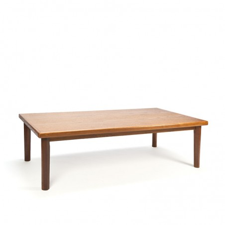 Danish vintage large coffee table from Brdr Furbo