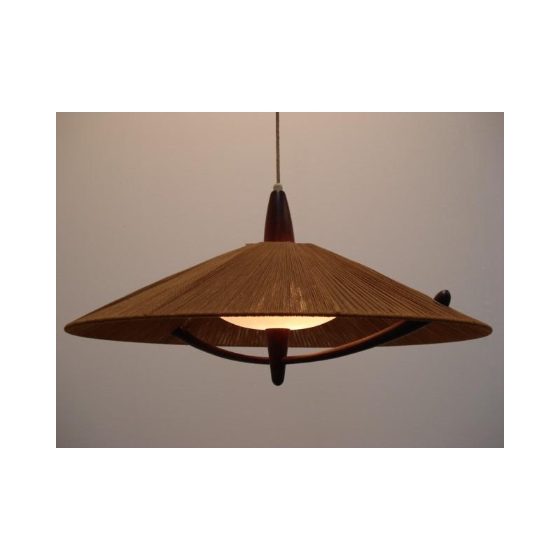 Vintage 50-er jaren design hanglamp 3