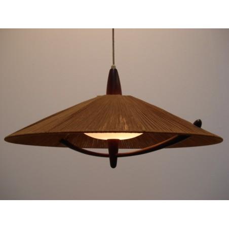 Vintage 50's design hanging lamp 3