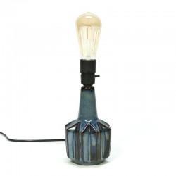 Deense aardewerken vintage lampenvoet van Søholm