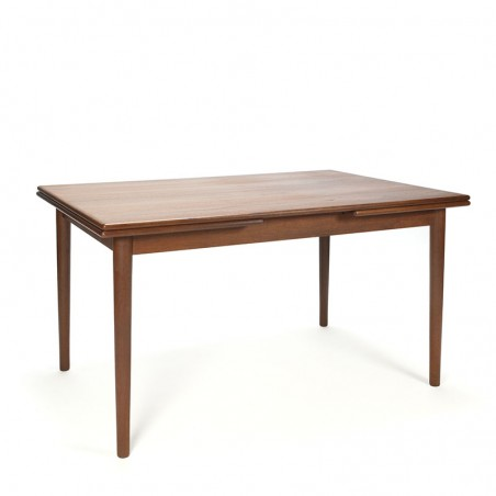 Extendable Danish vintage teak dining table
