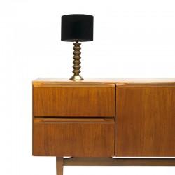 Short teak vintage sideboard sixties
