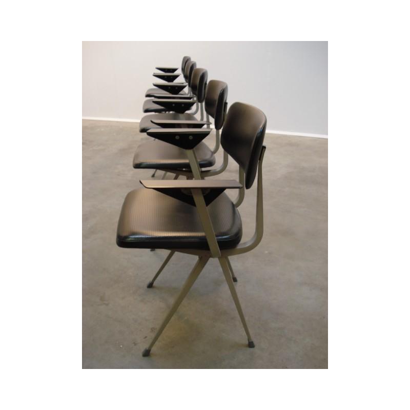 Set van 5 Result stoelen