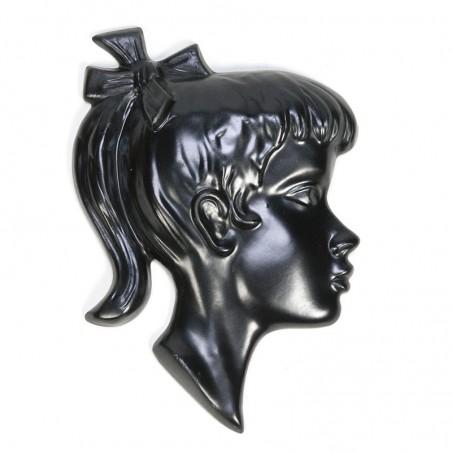 Vintage meisje in keramiek van Jema