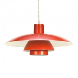 Vintage Poul Henningsen PH 4/3 hanging lamp for Louis Poulsen