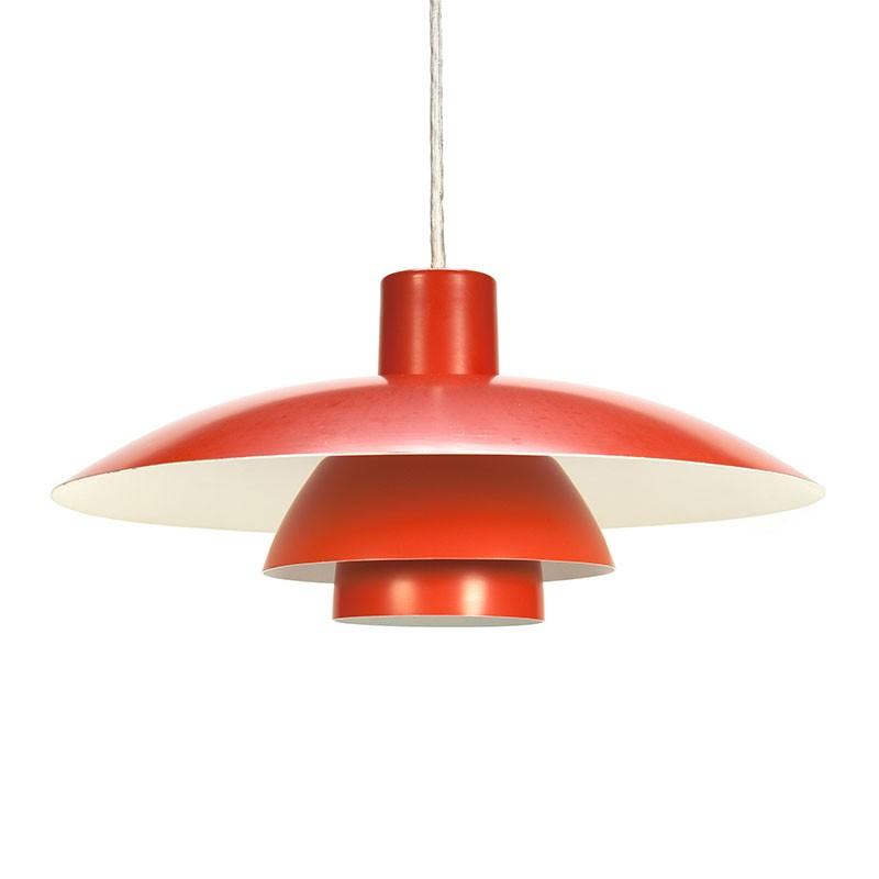 Vintage Poul Henningsen PH 4/3 hanging lamp for Louis Poulsen