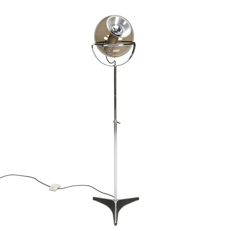 Vintage Globe floor lamp design Frank Ligtelijn for Raak