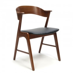 Vintage Kai Kristiansen model 32 stoel in teak
