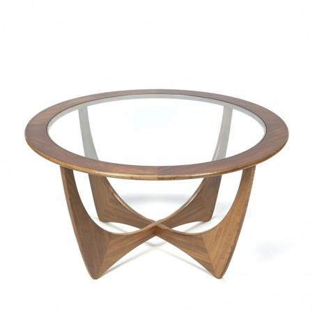 Vintage Astro coffee table design Victor Wilkins