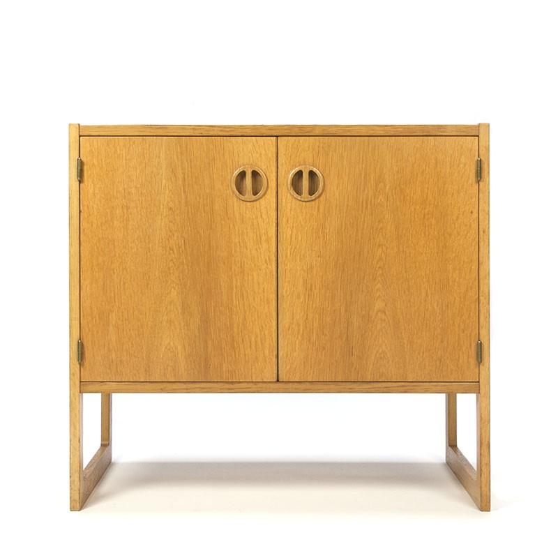 Small model vintage Danish cabinet in oak