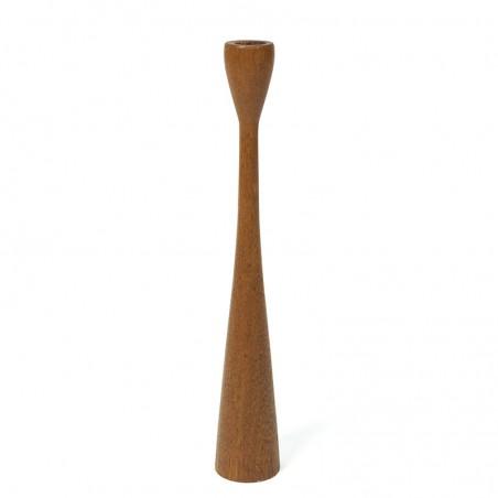 Danish teak vintage candlestick