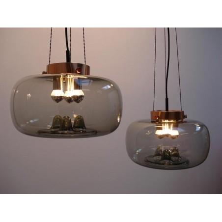 Kogellampen van het merk RAAK. Set van twee