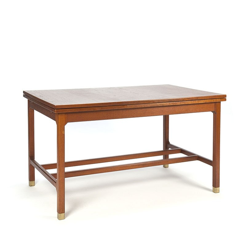 Swedish vintage design side table extendable