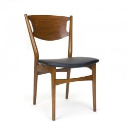 Teak vintage Danish dining table chair