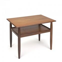 Teak vintage side table from Denmark