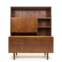 Deens vintage teakhouten meubel zestiger jaren