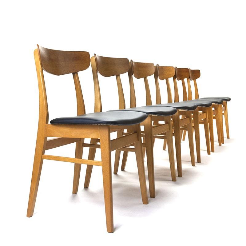 Vintage Danish Farstrup chairs set of 6