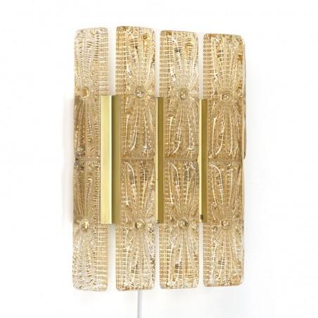 Groot model vintage wandlamp van Vitrika