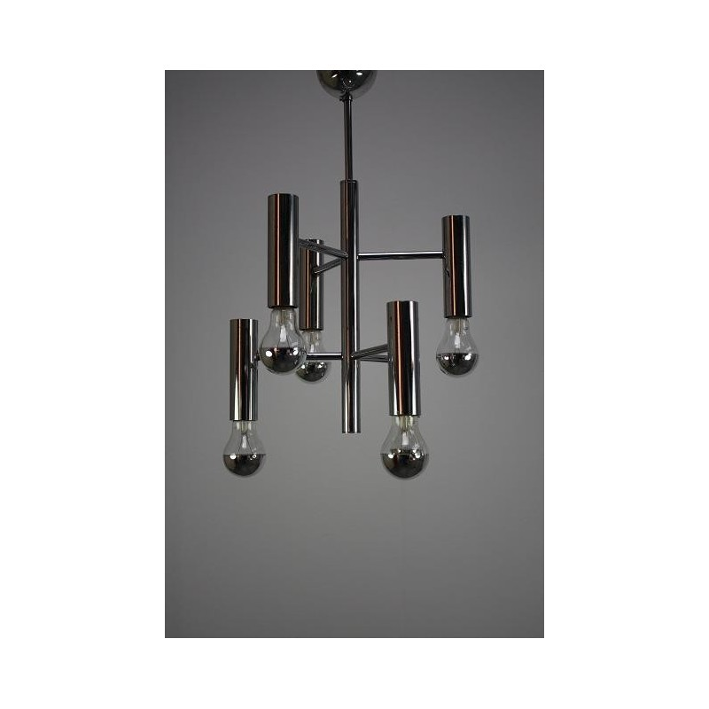 Chrome hanging lamp 2