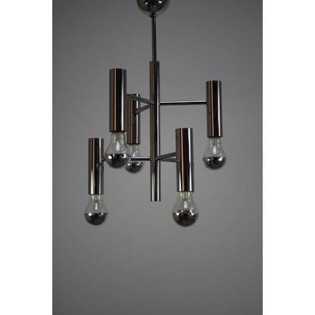 Chrome hanging lamp 2