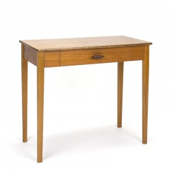 Sixties vintage Scandinavian oak small cabinet