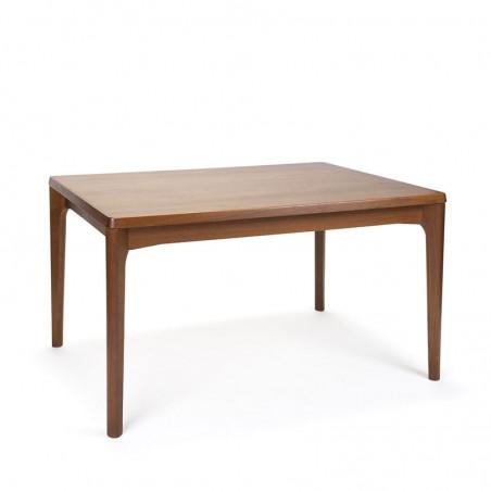 Vintage dining table design Henning Kjaernulf for Vejle