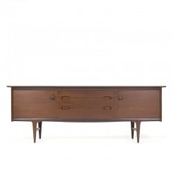 Vintage sideboard in teak design John Herbert for Younger