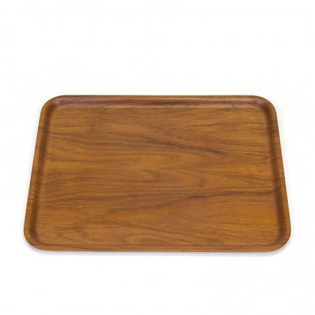 Teak Danish Silva vintage tray
