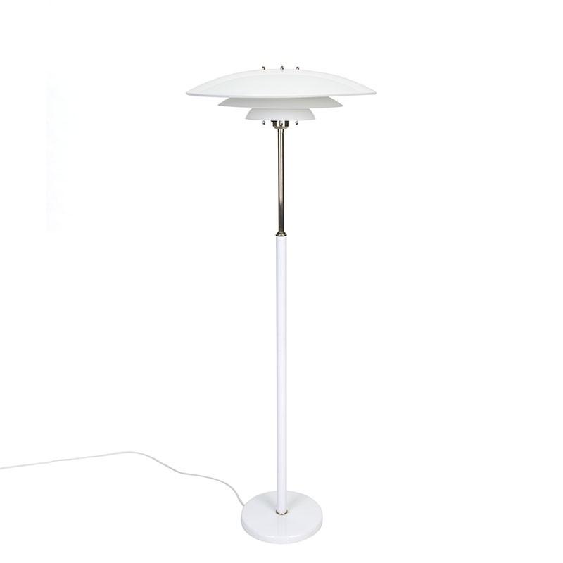 Deense vintage vloerlamp in Poul Henningsen stijl