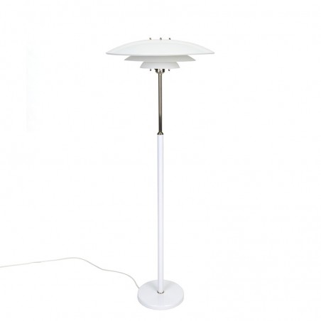 Danish vintage floor lamp in Poul Henningsen style