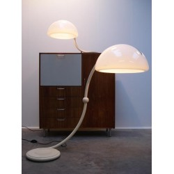 Set of 2 Serpente lamps from desiger...