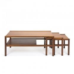 Teak vintage coffee table by McIntosh