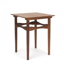 Teak Danish vintage plant table