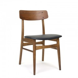 Vintage dining table chair in teak from Denmark