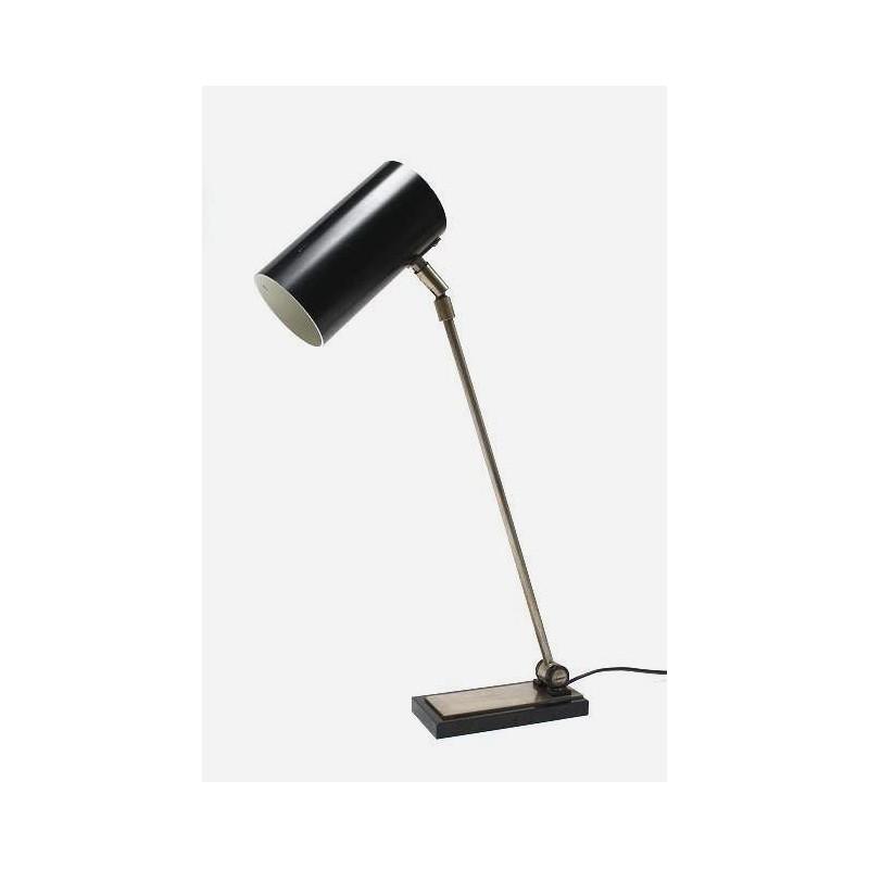 Zwarte bureaulamp
