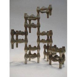 Stackable candleholders set of 13