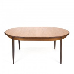Large oval model extendable vintage dining table from Gplan