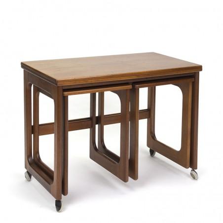 Mcintosh vintage side table foldable