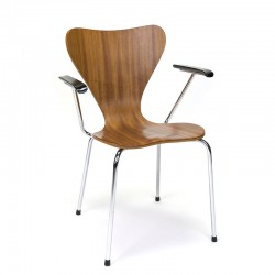 Deense vintage stoel in stijl van Arne Jacobsen