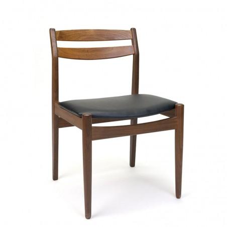 Dining table chair in teak vintage Danish model