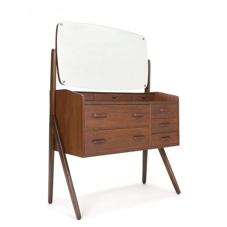 Danish dressing table in teak vintage sixties