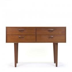 Vintage chest of drawers design Kai Kristiansen for Feldballe
