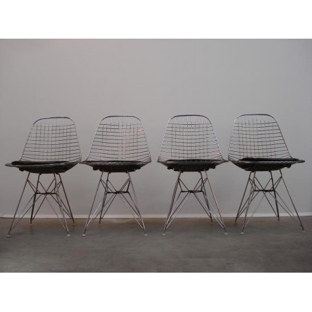 DKR wire chairs Charles & Ray Eames