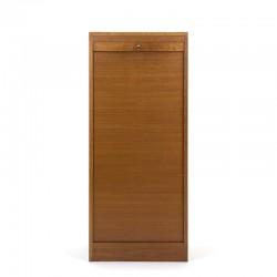 Oak Danish vintage model file cabinet
