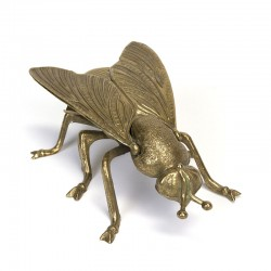 Brass vintage object fly