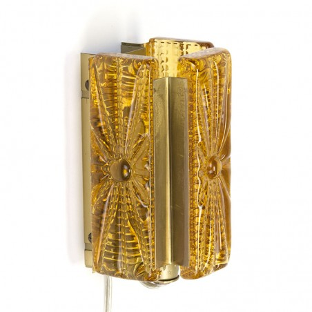 Vintage Vitrika wandlamp type Aladdin