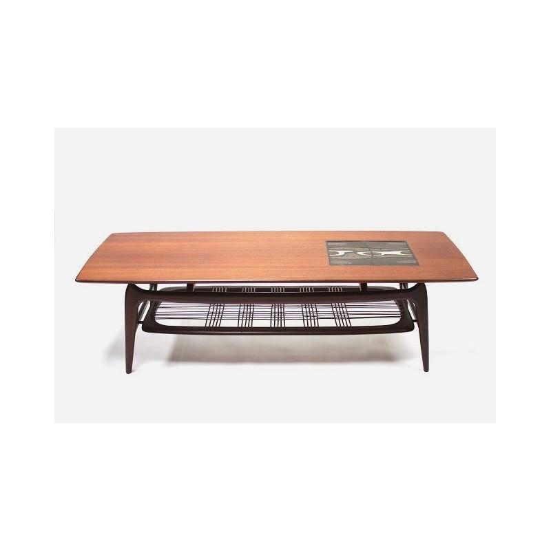 Vintage Webe coffee table with Ravelli tile